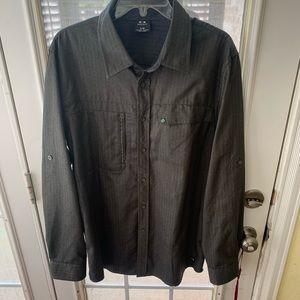 Men's Large Oakley Long Sleeve Button Down Shirt